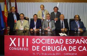 Drs. Murcia Mazón, Sales de Gauzy, Siebenrock, Gie, Macheras, Neves y Binazzi.