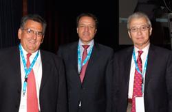 Drs. Carlos Lavernia de Miami y Miguel Cabanela