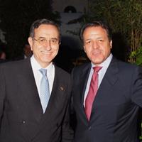 Dr. E. García Cimbrelo, Presidente de la SECCA y  Dr. R. Llopis Miró, Presidente del Comité Organizador del XV Congreso